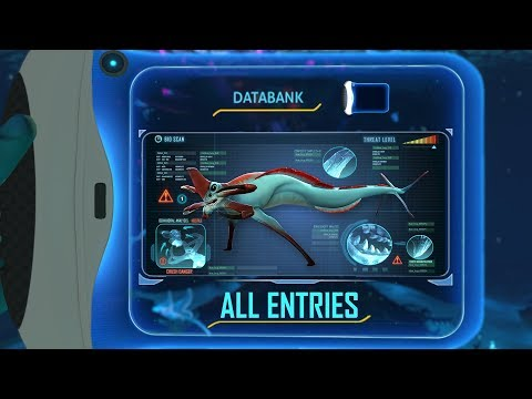 EVERY DATABANK ENTRY | Subnautica (release)