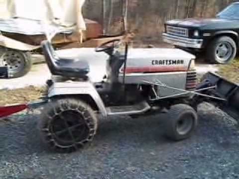 Craftsman Ii With A Briggs Twin 18 Hp Funnycat Tv