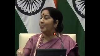 विदेश मंत्री सुषमा स्वराज ने बताया इराक में कैसे खोजे गए भारतीयों के शव