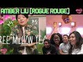 MV Reaction| Amber Liu (Rogue Rouge) - Three Million Years + Get Over It