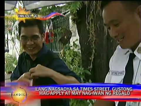 Times Street neighbors celebrate Aquino's proclamation