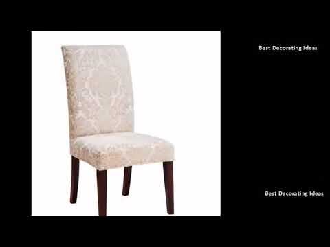 Parson Chairs - Parson Dining Chairs In Gray Microfiber | Best Design Picture Ideas for