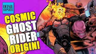 Origin of Cosmic Ghost Rider! The Punisher Gains Cosmic Power (Thanos #16 Review)