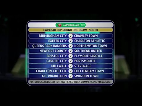 Charlton drawn twice in farcical Carabao Cup draw