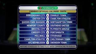 Charlton drawn twice in farcical Carabao Cup draw