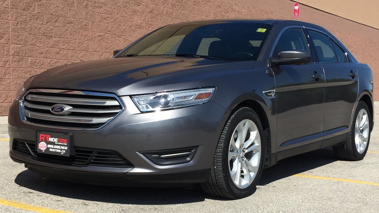 2013 ford taurus sel awd navigation leather sunroof great value