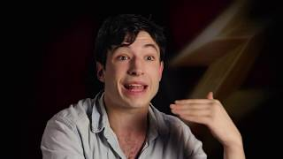"""Justice League """"The Flash"""" Official Movie Interview - Ezra Miller"""