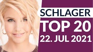 SCHLAGER CHARTS TOP 20 - Die aktuelle Wertung vom 22. Juli 2021