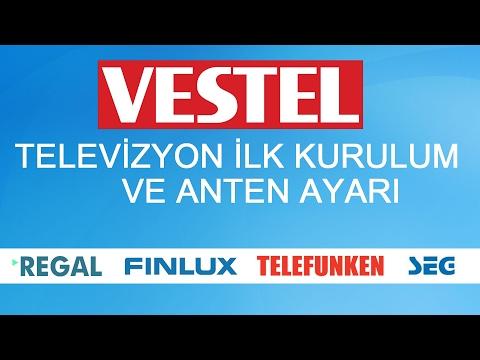 VESTEL TV KURULUMU VE ANTEN AYARI