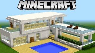 Minecraft Tutorial: COMO FAZER UMA CASA MODERNA ÉPICA!!!!
