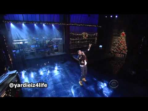 J Cole  Work Out  at Letterman 2011, KILLS IT!!!
