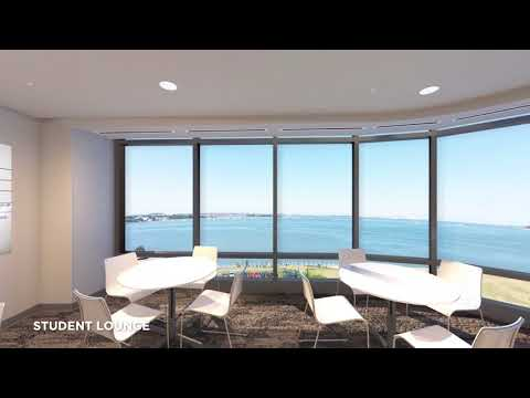 UMass Boston Residence Hall Renderings