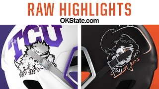 Cowboy Football 2015: TCU Raw Highlights
