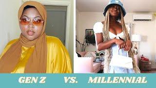 Gen Z vs. Millennial Style Swap: Freddie & Tahirah