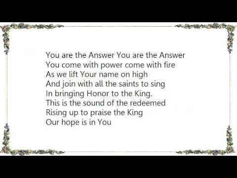 Hillsong - We the Redeemed Lyrics