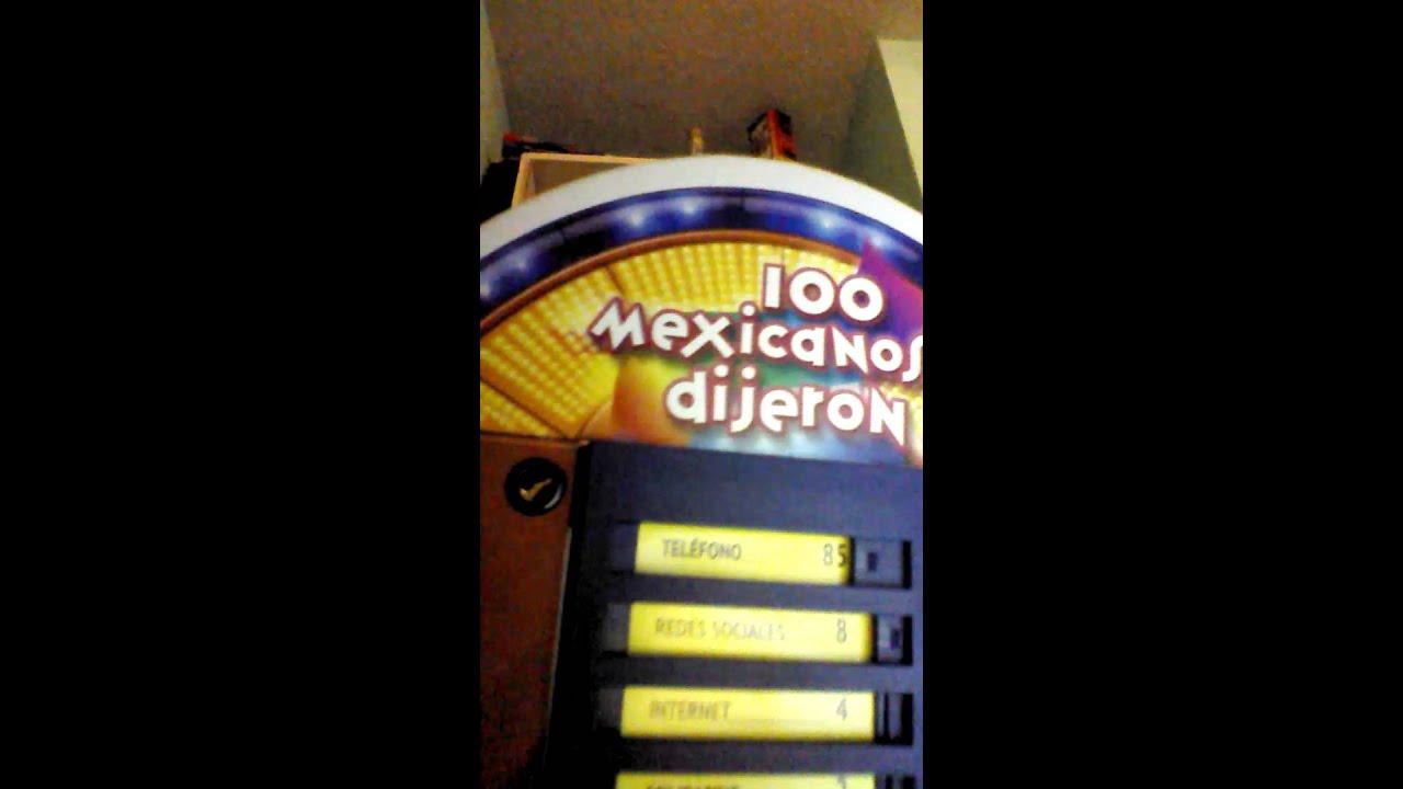 Jugando 100 Mexicanos Dijieron Youtube