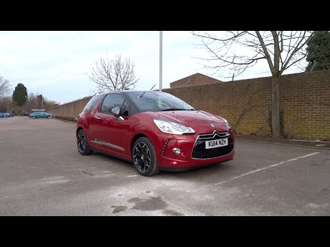 2014 Citroën DS3 1.6 VTi 120 DStyle Plus Start-Up and Full V