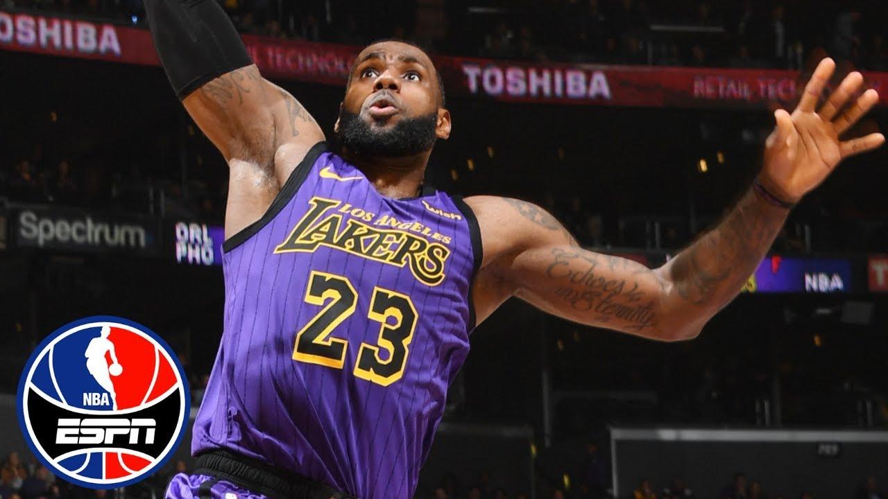 Lebron James Carries Lakers To Victory Vs The Mavericks Nba Highlights