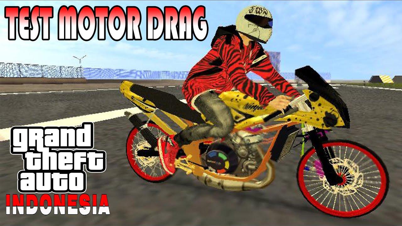 setting motor ninja rr di gta extreme indonesia - seruuu!!! - youtube