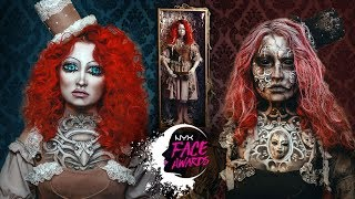 NYX FACE AWARDS RUSSIA 2018 • The Vintage Soul-Taking Doll • TOP 30 • #FACEAWARDSRUSSIA2018