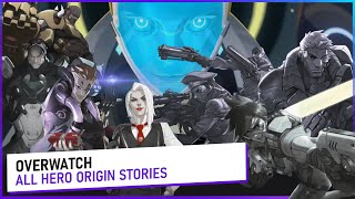 Overwatch ALL HEROES ORIGIN STORY (2015-2020)