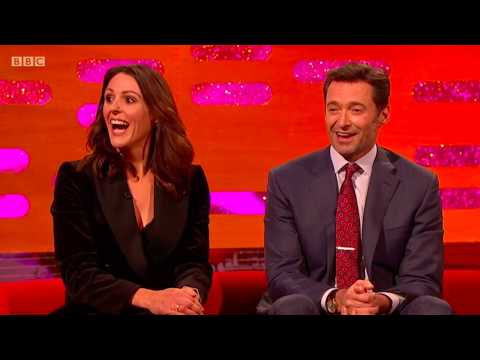 Suranne Jones' greatest weakness are coffee & Hugh Jackman. The Graham Norton .