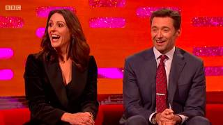 Suranne Jones' greatest weakness are coffee & Hugh Jackman. The Graham Norton Show.