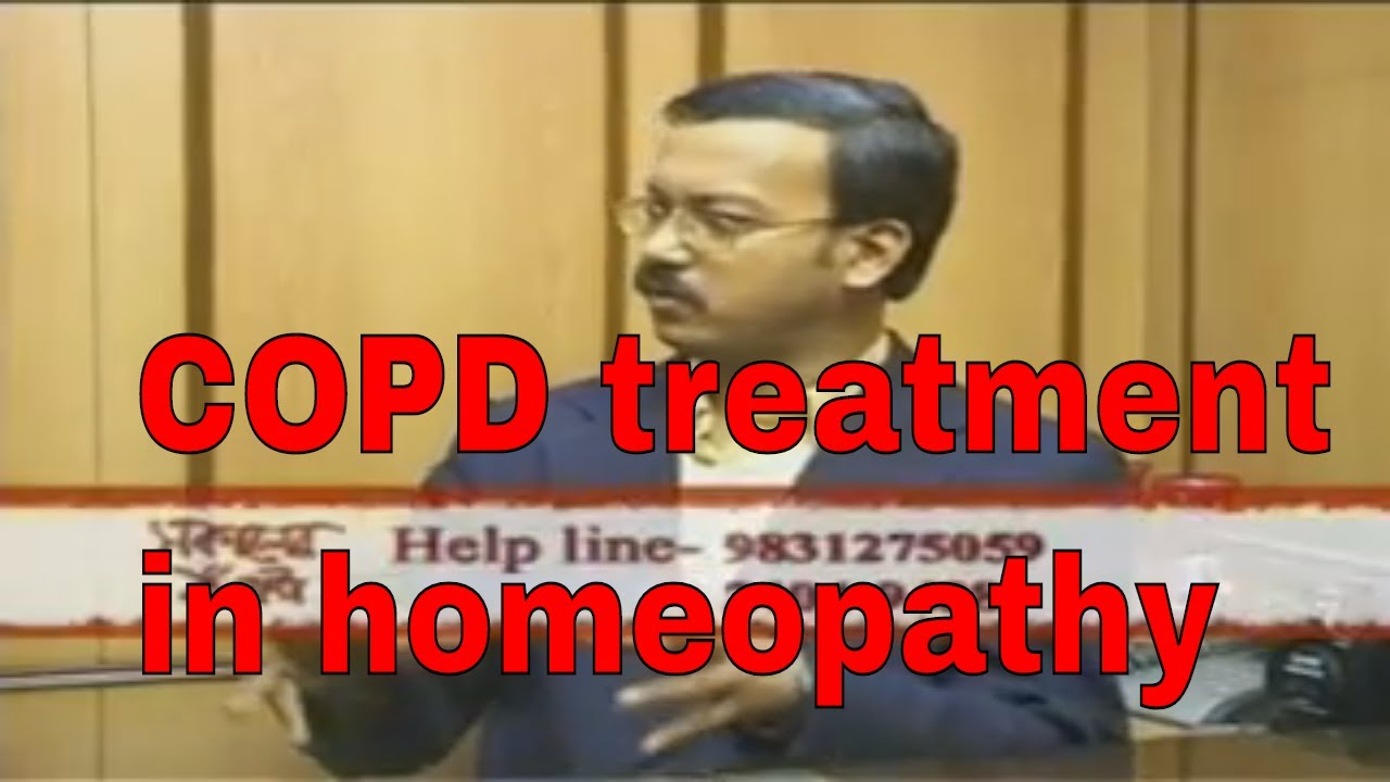 COPD treatment in homeopathy/homeopathic remedies for COPD