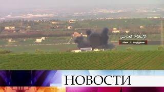 Сирийские военные заняли несколько крупных населенных пунктов впровинции Хама.