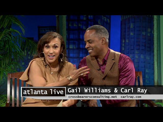 ATLANTA LIVE 09/07/21| Carl Ray & Gail Williams host Kandi Rose & Jordan B. Band
