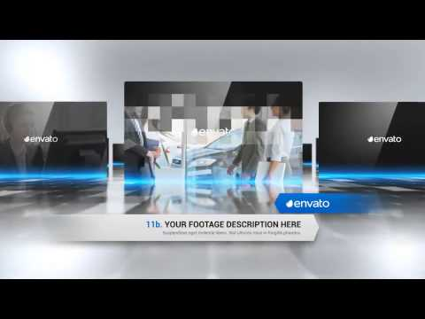 corporate presentation video - after effects template - youtube, Presentation templates