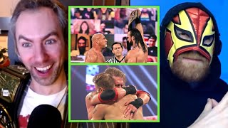 Goldberg Drew McIntyre SPAMMED Finishers HUGE Returns Best Of WWE Royal Rumble 2021 Reactions