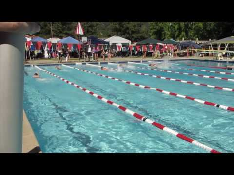 Kenneth Chen 2017 第一場游泳賽 個人單項五十碼自由式
