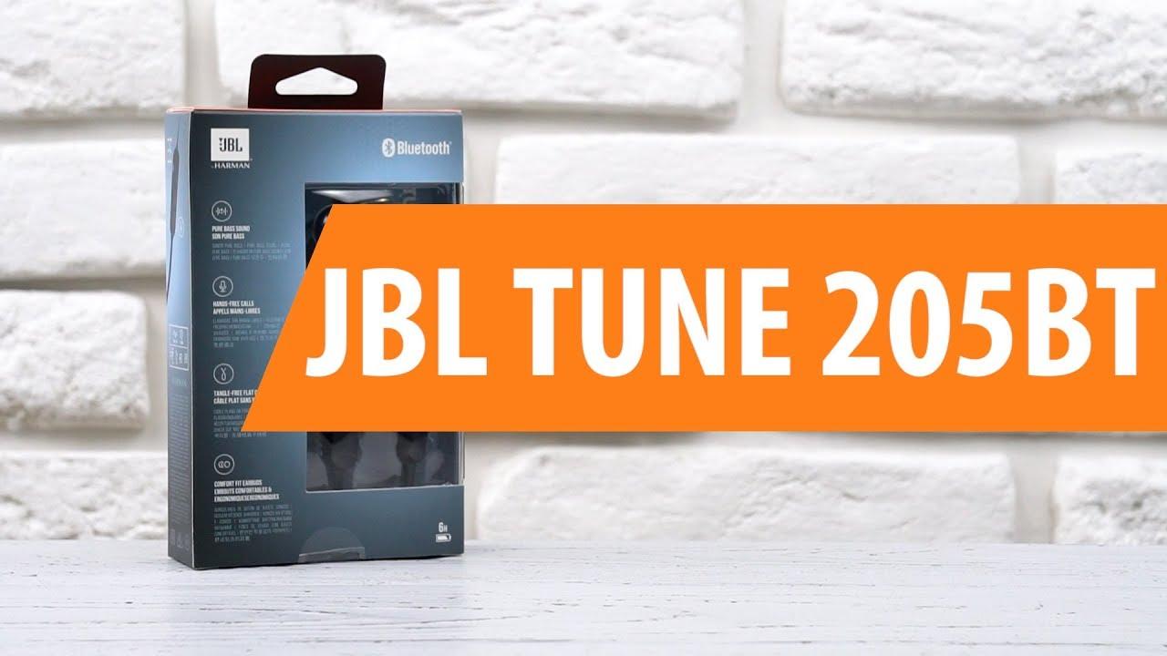 d6edb306f74 Распаковка наушников JBL TUNE 205BT / Unboxing JBL TUNE 205BT - YouTube
