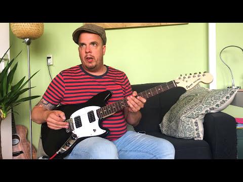 Squier Bullet Mustang review demo (2017)