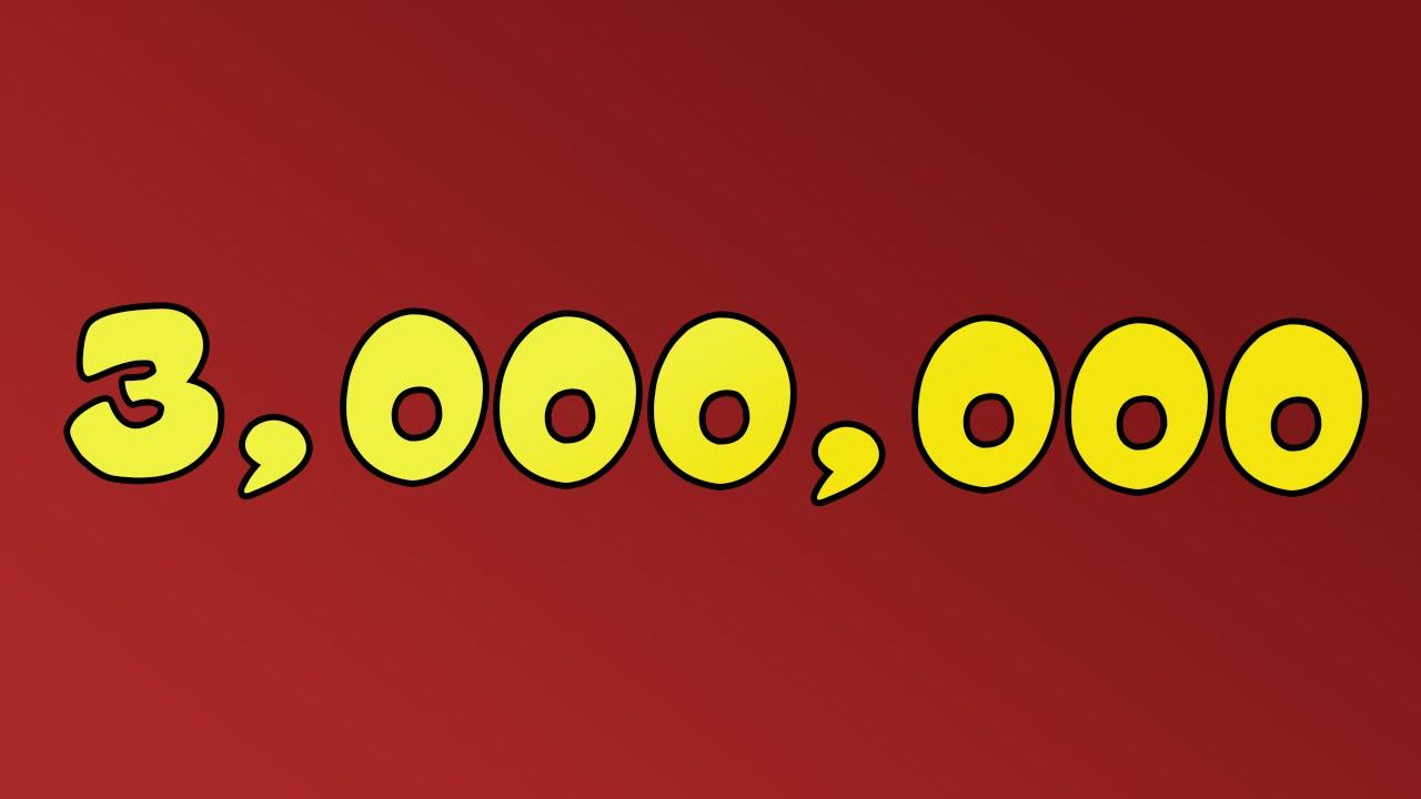 Image result for 3million