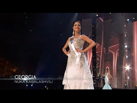 Miss Universe 2017 Preliminary Evening Gown Competition -- 2017