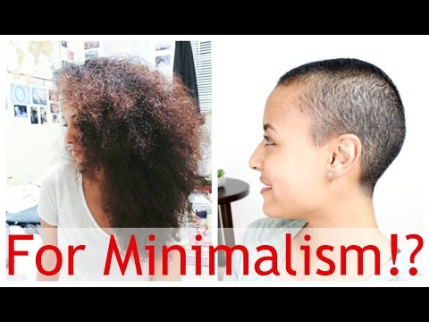 I SHAVED MY HEAD | Video + Before & After!