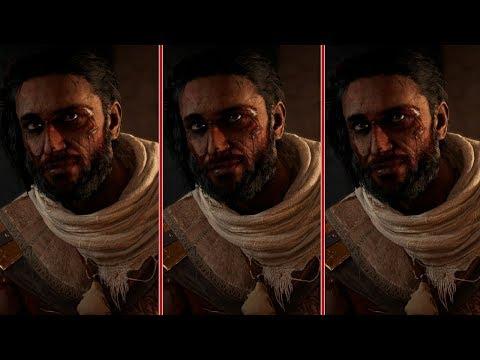 Assassin's Creed: Origins Graphics Comparison - PS4 Pro vs. Xbox One S vs. PC