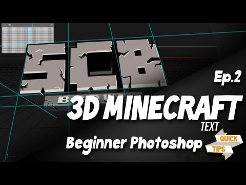 Quick Tips EP2: How To Make 3D Minecraft Text - YouTube