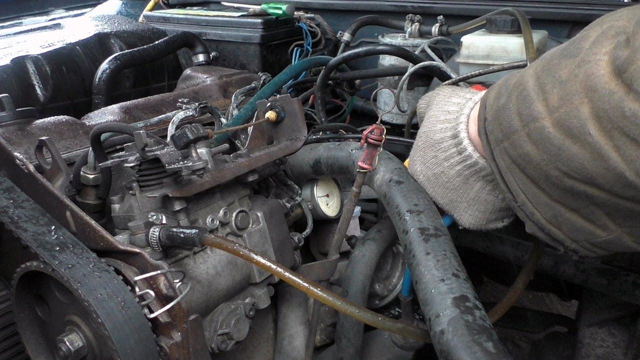 установка зажигания на дизельном двигателе фольксваген фото