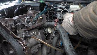 Проверка и установка УОВ топлива на 1,6 (1,9 TDI) дизеле(⚙микрометром)
