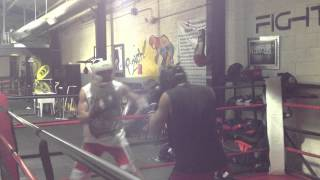 Patrick and Deigo Fight Academy Boxing Sparring