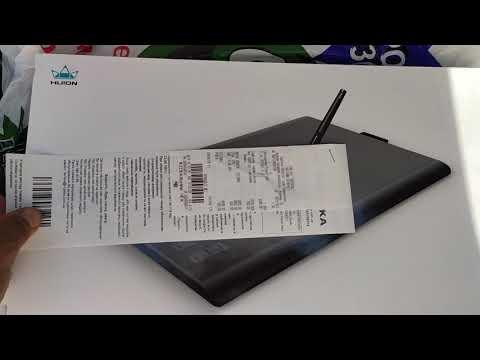 Графический планшет Huion New 1060Plus с перчаткой