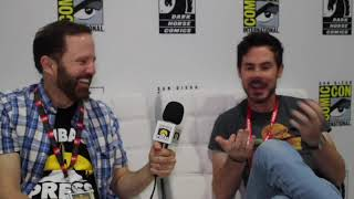 SDCC 2019: Christopher Cantwell On SHE COULD FLY, Working With Karen Berger, And More