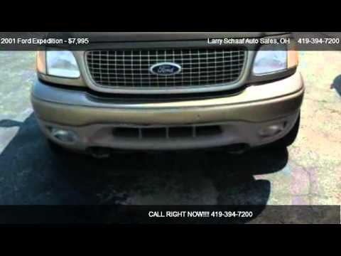 2001 Ford Expedition Eddie Bauer 4WD - for sale in St. Marys, OH 45885