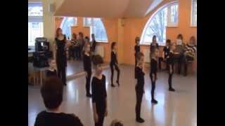 фрагмент урока хореографии