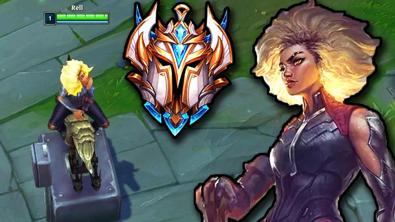 RELL GAMEPLAY!!! This is What a CHALLENGER RELL SUPPORT looks like!