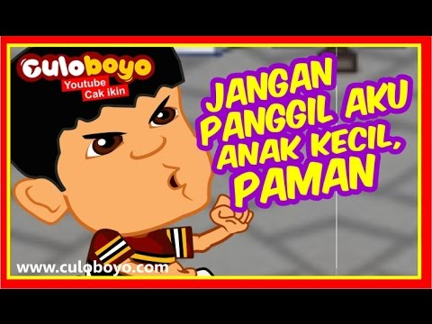 Culoboyo | ANAK KECIL NAIK SEPEDA (SHIVA ANTV PARODY )