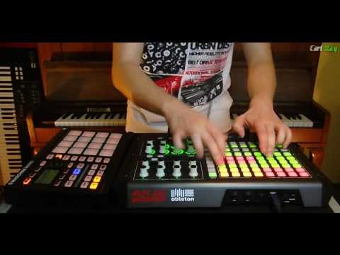 Daft Punk One More Time Carl Rag Remix APC 40, Maschine
